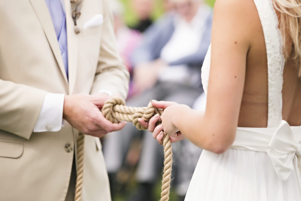Tying the knot at Starry Night Barn and Studios Wedding