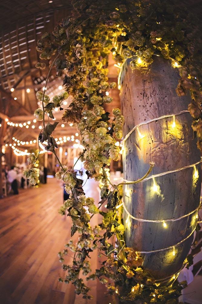 Starry Night Barn and Studios Wedding Lights