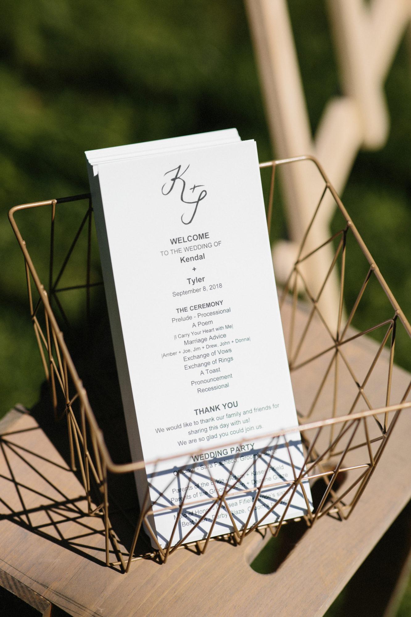 Starry Night Barn and Studios Wedding Invites