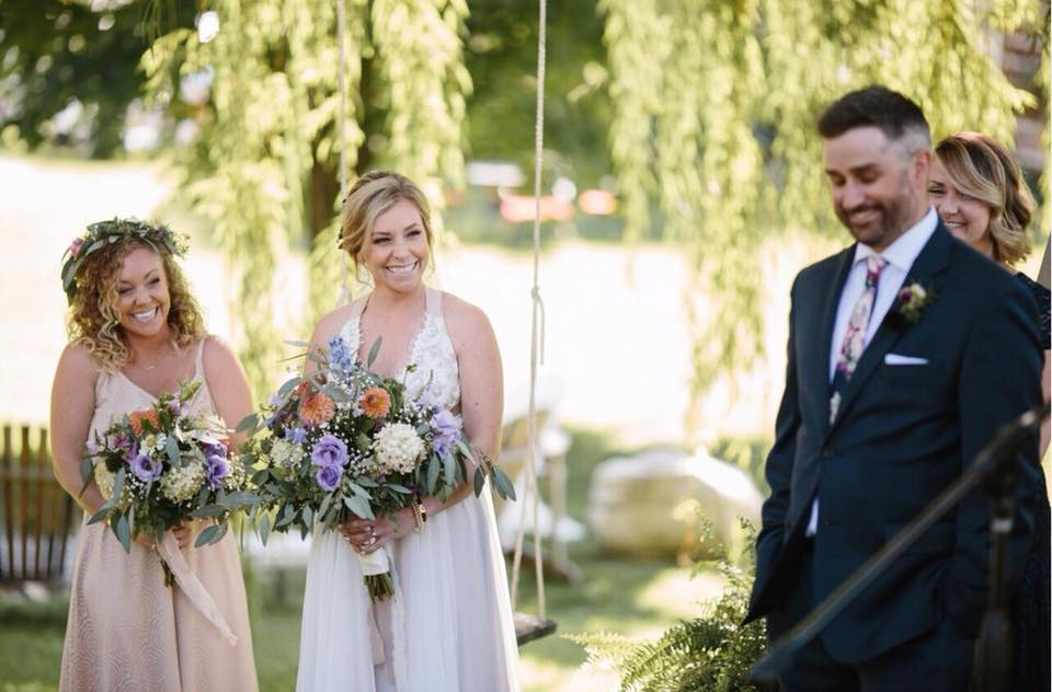 Starry Night Barn and Studios Wedding party