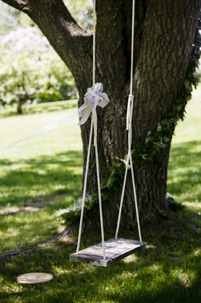 Starry Night Barn and Studios Wedding Tree swing