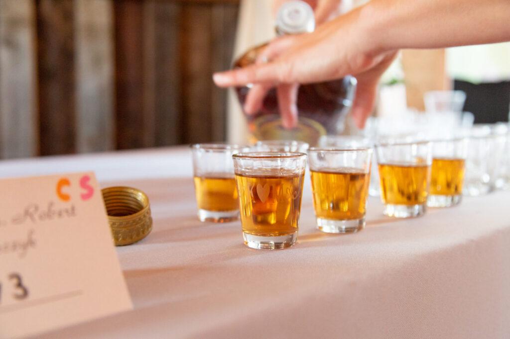 Drinks at Starry Night Barn and Studios Wedding