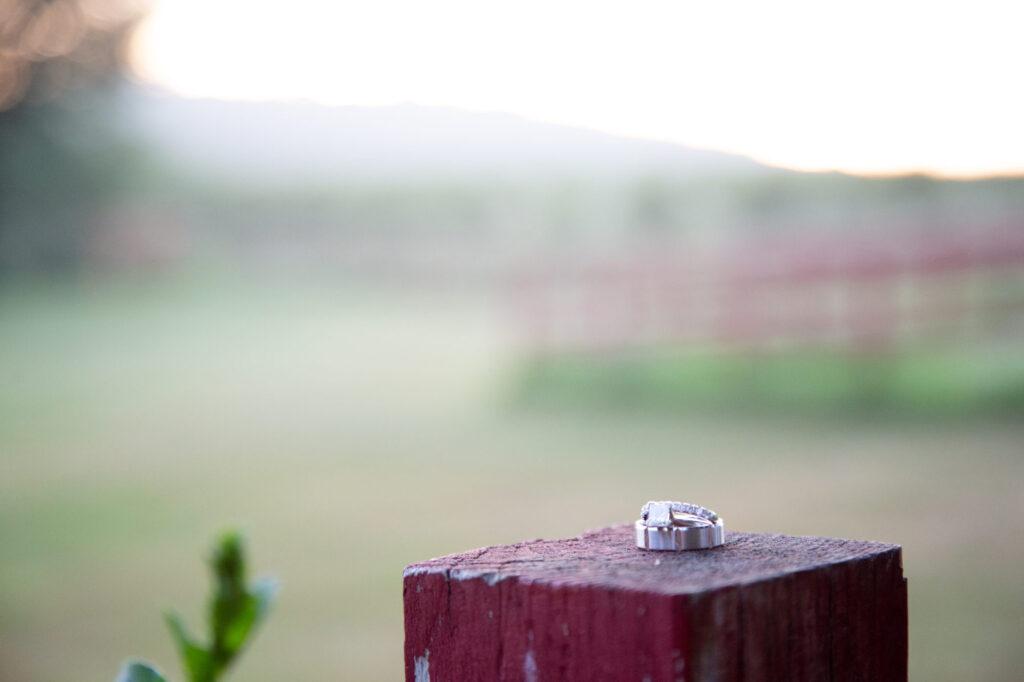 Wedding Ring at Starry Night Barn and Studios