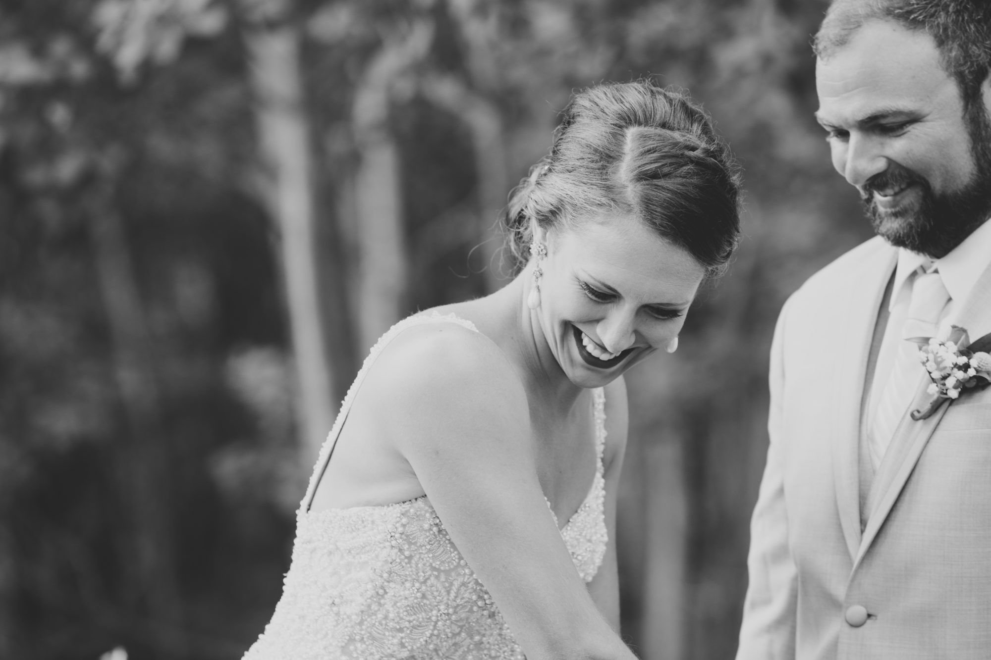 Married couple at Starry Night Barn and Studios